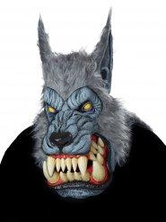 Varulf maske voksen grå