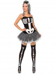 Kostume sexet skelet til kvinder