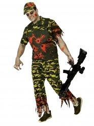 Kostume soldat zombie Halloween Camo til mænd