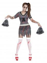 Kostume zombie pompom pige til kvinder Halloween