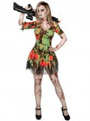 Kostume militør zombie til kvinder Halloween
