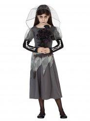 Kostume spøgelsesbrud til piger Halloween