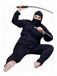 Ninja kostume i stor størrelse mand