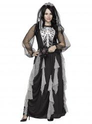 Kostume skeletbrud til Halloween