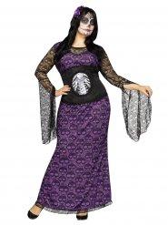 Kostume Dia de los Muertos til kvinder Halloween