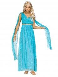 Kostume gudinde antik blå til kvinder
