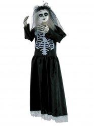 Skræmmende Halloween skelet 91 cm