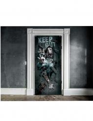 Dørdekoration til Halloween 46x152cm