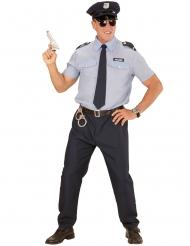 Kostume politimand blå til mænd
