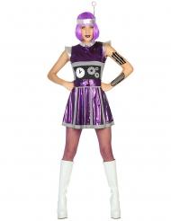 Kostume rumrobot til kvinder