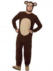 Kostume brun bjørn til voksne