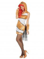 Kostume fisk til kvinder