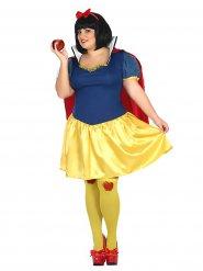 Kostume prinsesse med de røde æble
