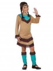 Kostume Squaw fra det vilde western til børn