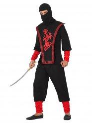Ninja krigerkostume til mænd