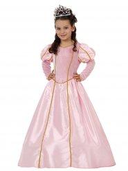 Kostume prinsesse i lyserød til børn