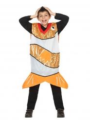 Kostume guldfisk i glimmer til børn