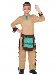 Kostume Indianer fra det vilde vesten til drenge