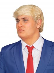 Amerikansk blond paryk til voksne