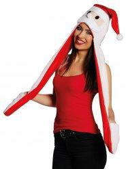 Julemandshue med halstørklæde og vanter