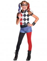 Kostume luksus Harley Quin™ - Superhero Girls™