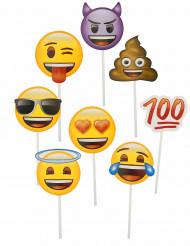 Kit photobooth 8 stk Emoji™