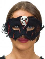 Halloween maske med kranie