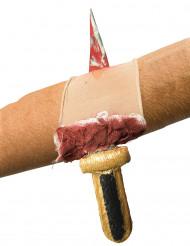 Ærme med blodig kniv - til voksne