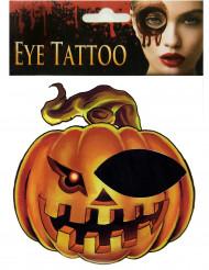 Halloween øje tatovering til voksne