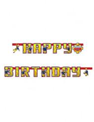 Happy Birthday Guirlande Brandmand Sam™ 163 x 13 cm