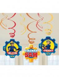 6 Spiral ophæng Brandmand Sam™