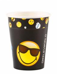 8 Papkrus Smiley Emoticons™ 250 ml