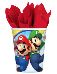 8 krus i karton Super Mario™ 266 ml