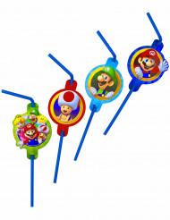 8 Plastiksugerør med Super Mario™