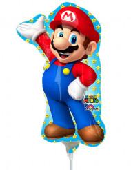 Ballon aluminium oppustet Super Mario™ 20 x 30 cm