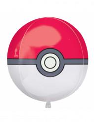 Ballon aluminium Pokéball Pokémon™ 38 x 40 cm