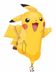 Ballon aluminium Pikachu Pokémon™ 62 x 78 cm