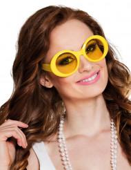 Disco brille i gul
