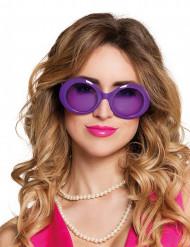 Disco brille i lilla