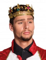 Krone konge med falske ædelsten til voksne