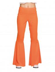 Bukser disko orange til kvinder