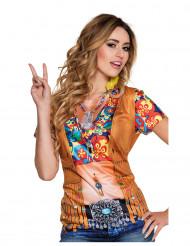 T-shirt hippe med vest til kvinder