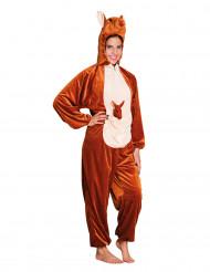 Kostume kænguru i plys til teenagere