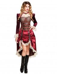 Kostume kaptajn Steampunk til kvinder