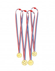 Mini medaljer 4 stk.