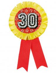 Medalje holografisk 30