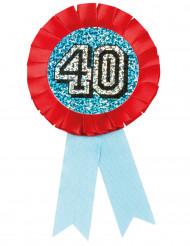 Medalje holografisk 40