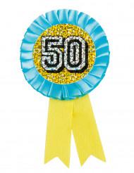 Medalje holografisk 50