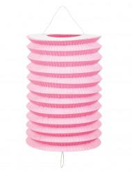 Lanterne 12 stk. lyserøde 20 cm