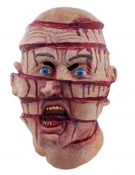 Skiveskåret hoved - Maske til voksne